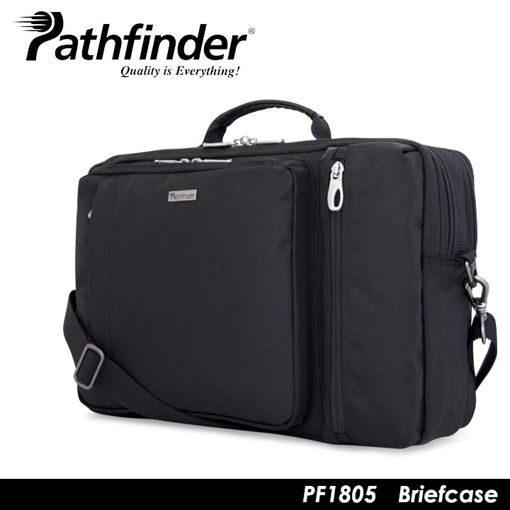パスファインダー Pathfinder ブリーフケース PF1805 AVENGER 【 3WAY ショルダーバッグ リュックサック ビジネスバッグ メンズ 】[bef][PO10]