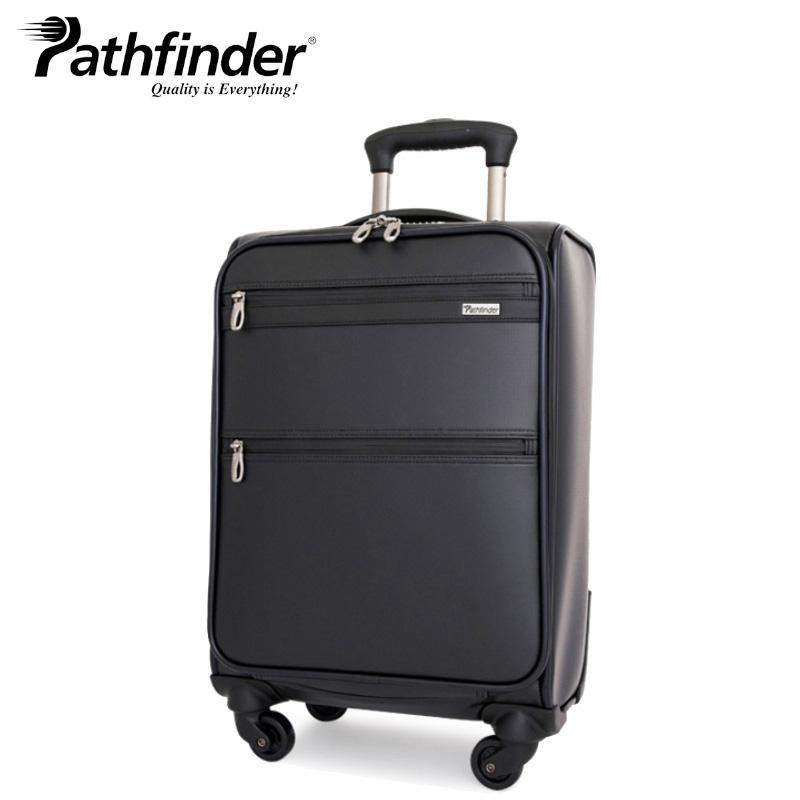 パスファインダー Pathfinder スーツケース PF5418B 54cm Revolution3 【 4輪キャリー ソフトキャリー ダイヤル式TSAロック 止水 機内持ち込み可能 1年保証 】[bef][PO10]