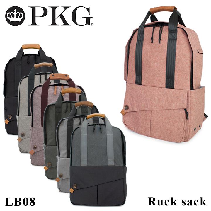ピーケージー リュック LB08 PKG 【 DRI collection 】【 リュックサック デイパック バックパック メンズ】【PO10】[bef]