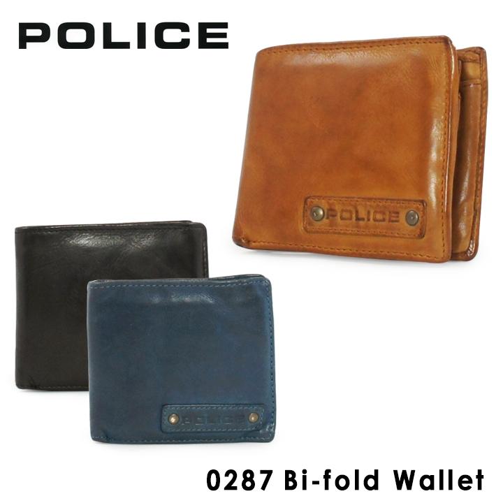ポリス 二つ折り財布 PA59601 (0287) LAVARE ラヴァーレ POLICE札入れ コインケース カードケース メンズ 二つ折り ウォッシュ加工 洗い加工 [bef][PO10]
