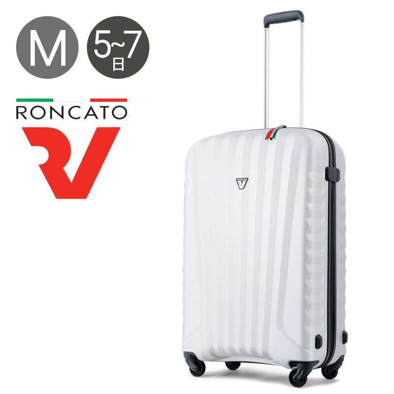 ロンカート スーツケース 5082 UNO ZIP ZSL 67cm 【 ウノ ジッパー 10年保証 】【 1420 軽量 イタリア製 キャリーケース TSAロック搭載 】【PO10】【bef】