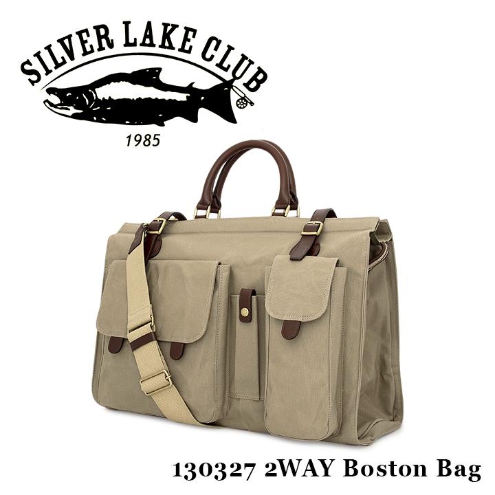 シルバーレイククラブ ボストンバッグ 2WAY メンズ 日本製 9号帆布 130327 撥水 SILVER LAKE CLUB [bef][PO10]