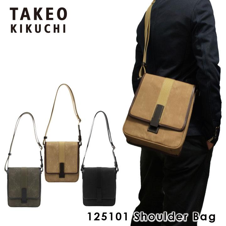 タケオキクチ ショルダーバッグ 125101 TAKEO KIKUCHI 【 メンズ 】【 クラプトン 】【キクチタケオ】[bef][PO5]
