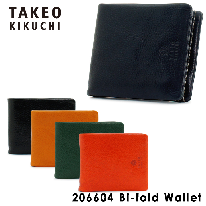 30257cb7724c タケオキクチ 二つ折り財布 206604 TAKEO KIKUCHI 【 キャンティ 】【キクチタケオ】【 財布 メンズ