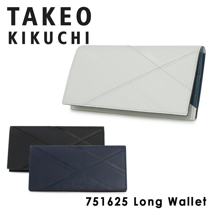 タケオキクチ 長財布 751625 ネクタイ TAKEO KIKUCHI 【 財布 メンズ レザー 】【キクチタケオ】[bef][PO5]