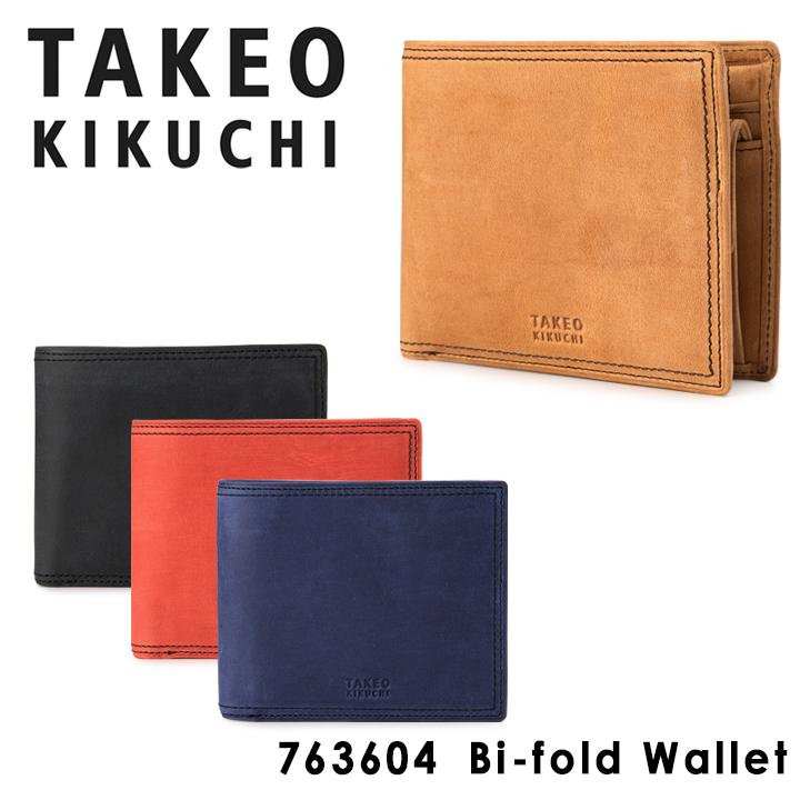 タケオキクチ 二つ折り財布 ティンバー TAKEO KIKUCHI 【 札入れ メンズ レザー 】【PO5】【bef】