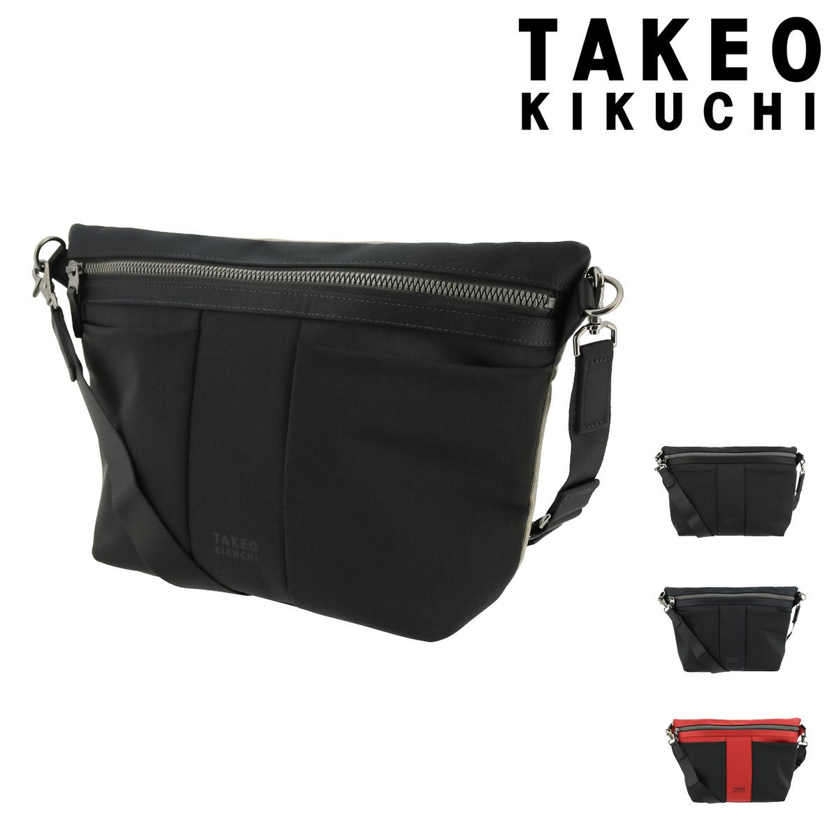 タケオキクチ メッセンジャーバッグ テムズ メンズ775102 日本製 TAKEO KIKUCHI | 撥水 軽量 [PO5][bef]