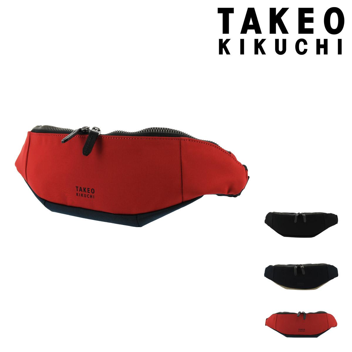 タケオキクチ ウエストポーチ テムズ メンズ775901 日本製 TAKEO KIKUCHI   ウエストバッグ 撥水 軽量 [PO5][bef]