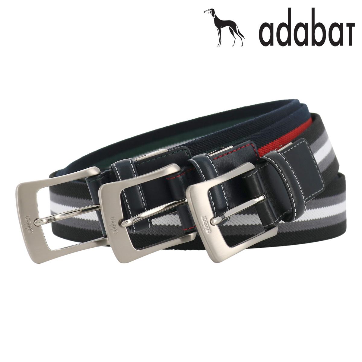 アダバット ベルト ピンタイプ メンズ 5050119 日本製 adabat | ビジネス カジュアル ブランド専用BOX付き 本革 レザー [PO5][bef][即日発送]