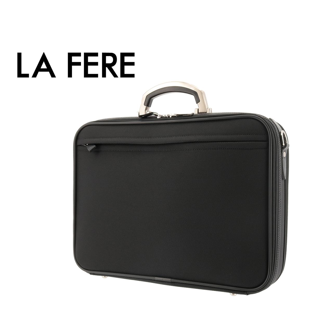 青木鞄 ラフェール ブリーフケース オプス 6771 LA FERE ビジネスバッグ ソフトアタッシュケース メンズ 日本製 中空糸ナイロン[bef]