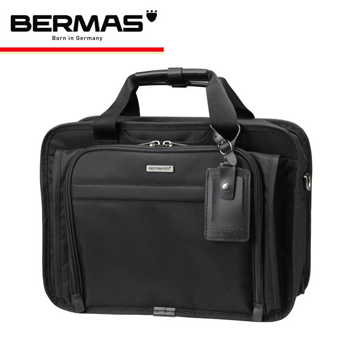 バーマス BERMAS ブリーフケース ファンクションギアプラス 60432 ブラック FUNCTION GEAR PLUS 2WAY 2層 キャリーオンバッグ [PO10][bef]