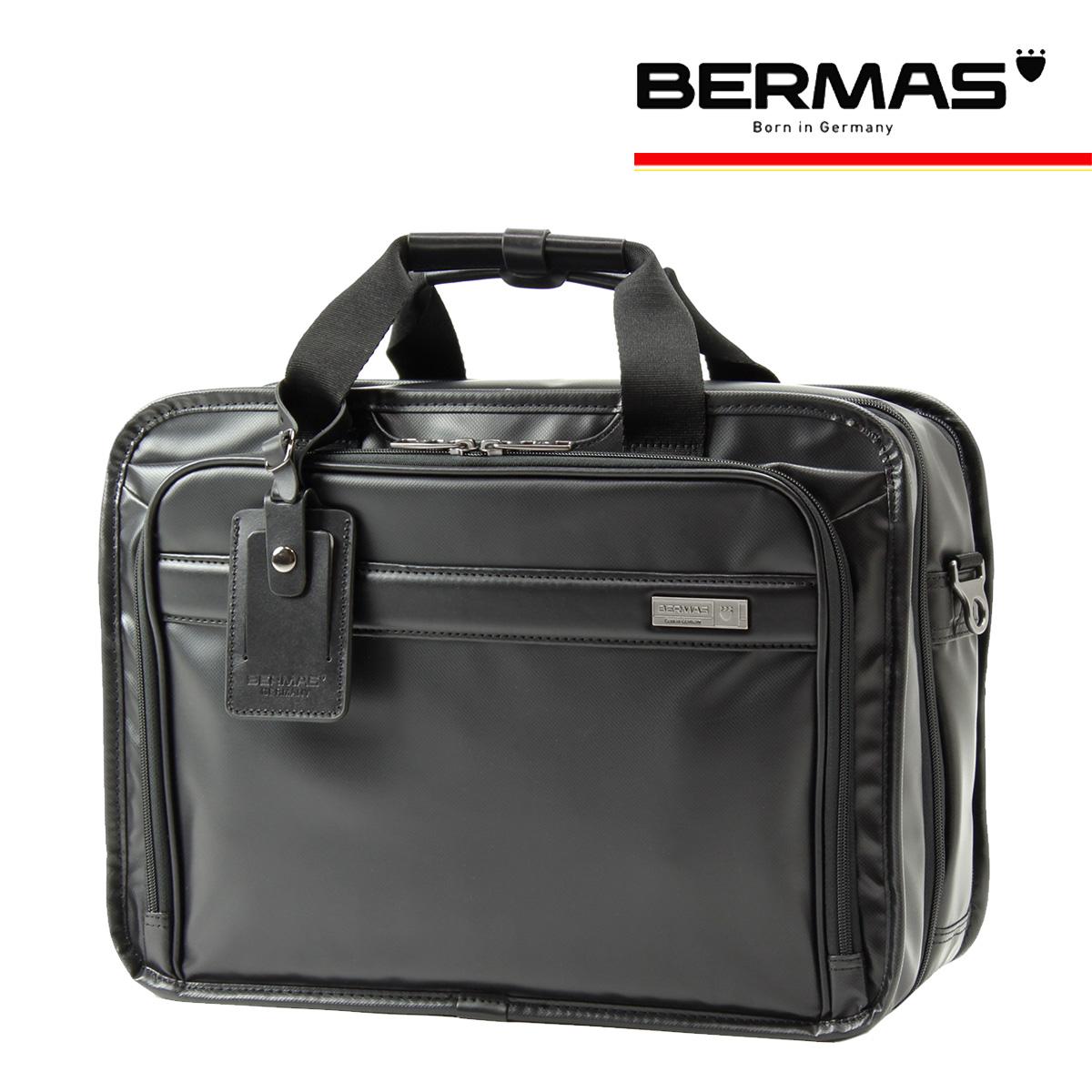 バーマス ブリーフケース 2WAY メンズ インターシティ 60460 BERMAS ビジネスバッグ 撥水 防汚 キャリーオン[bef]