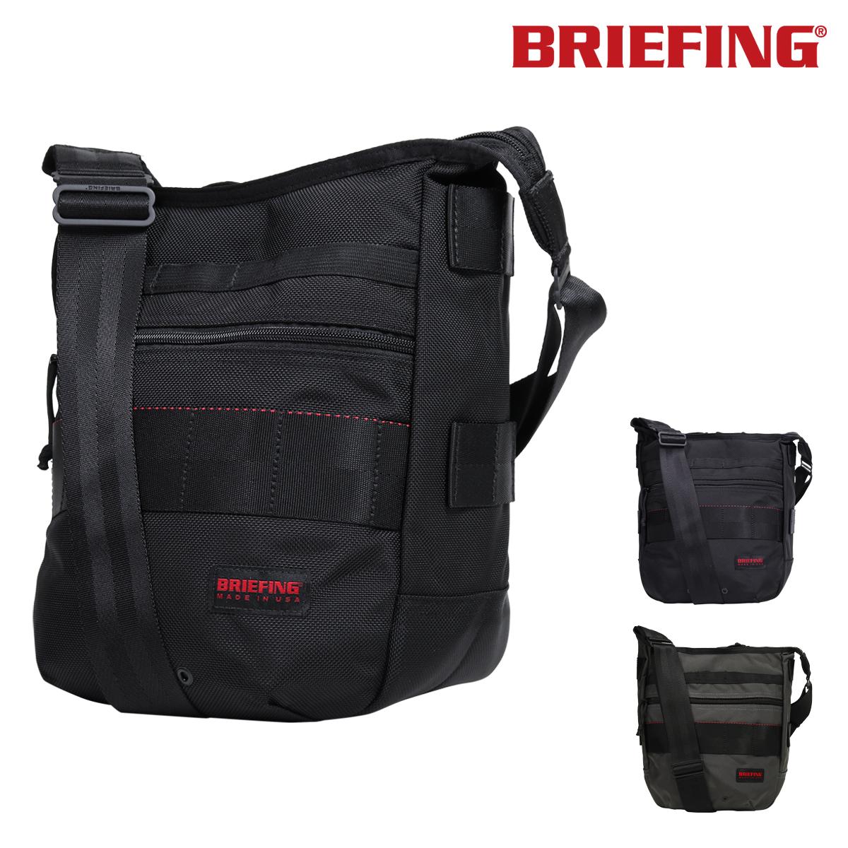ブリーフィング ショルダーバッグ メンズ BRF032219 BRIEFING | 斜めがけ 軽量 撥水 [即日発送][PO10]