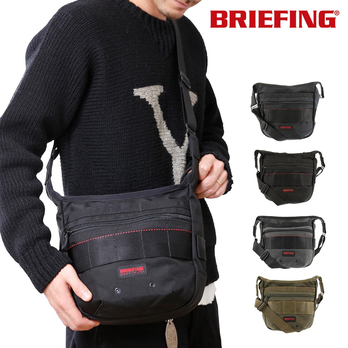 ブリーフィング ショルダーバッグ USA メンズ BRF105219 BRIEFING   軽量コンパクト ナイロン[bef][PO10][即日発送]