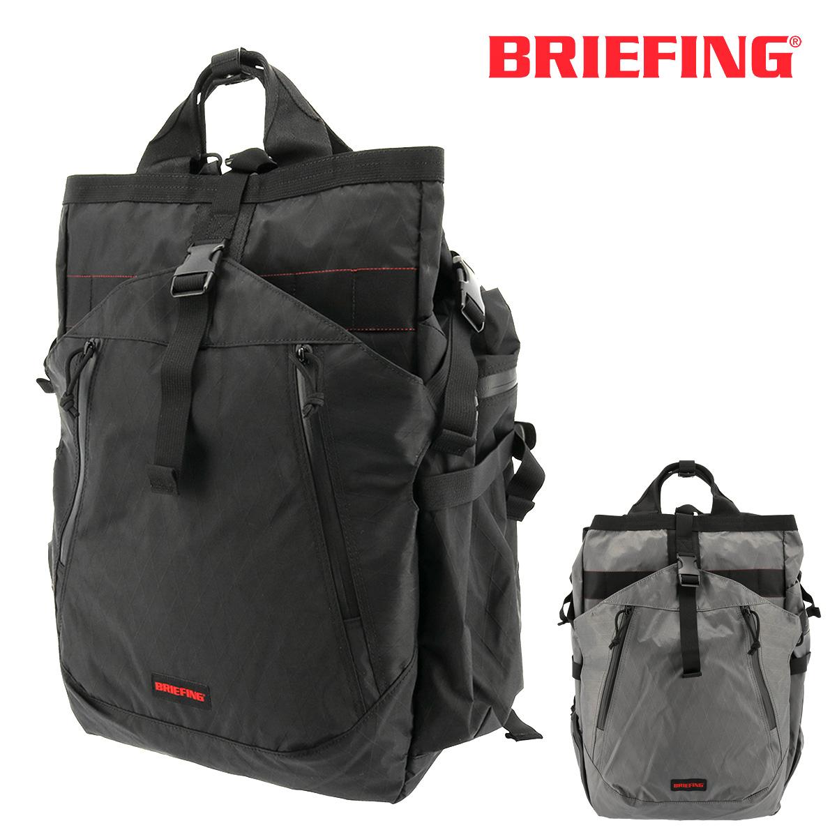 ブリーフィング リュック 大容量 メンズ トランジションバッグ XP BRM183108 BRIEFING リュックサック バックパック スクエア A4 軽量 防水 ナイロン【即日発送】