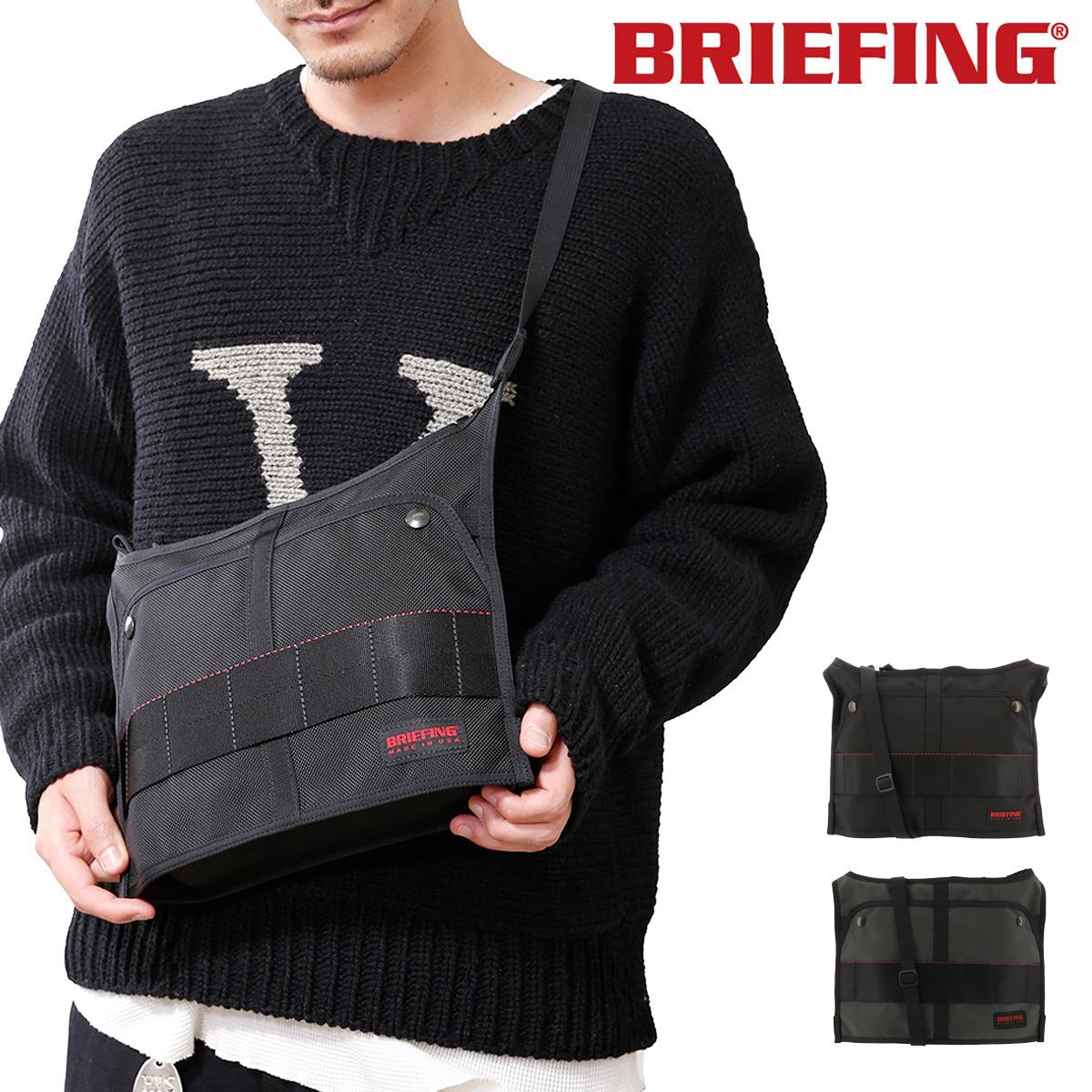 ブリーフィング サコッシュ USA メンズ BRM183206 BRIEFING | T-SACOCHEショルダーベルト付き ナイロン[bef][即日発送]