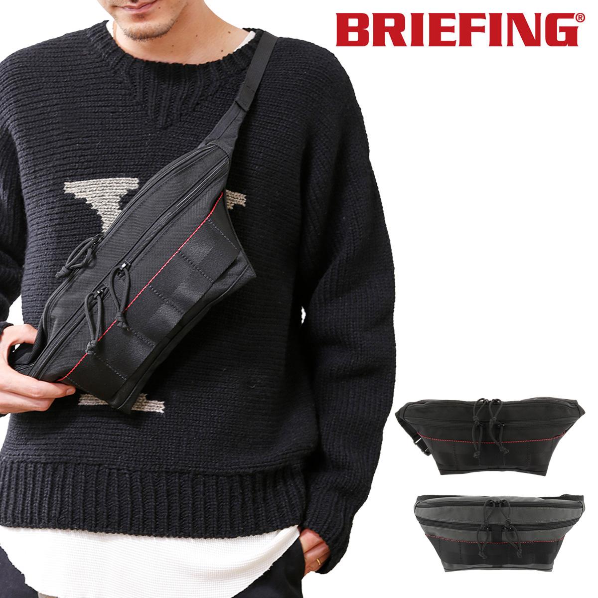 ブリーフィング ボディバッグ USA メンズ BRM183209 BRIEFING | FACE ウエストバッグ ナイロン[bef][即日発送]