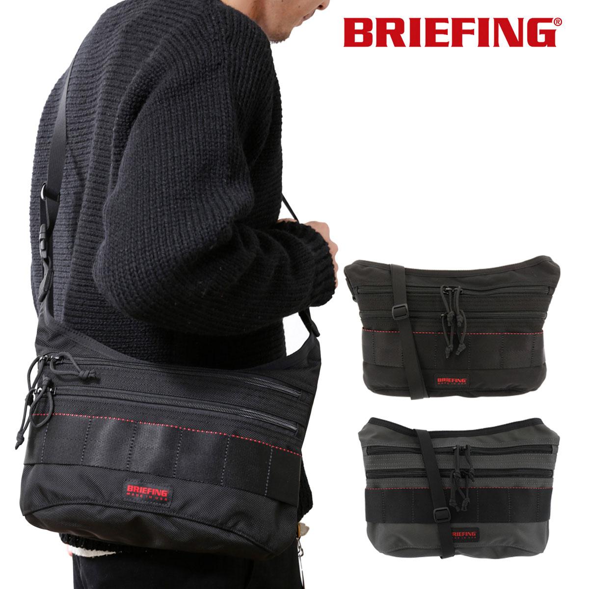 ブリーフィング ショルダーバッグ USA メンズ BRM183210 BRIEFING | FIN 軽量 コンパクト ナイロン[bef][即日発送]