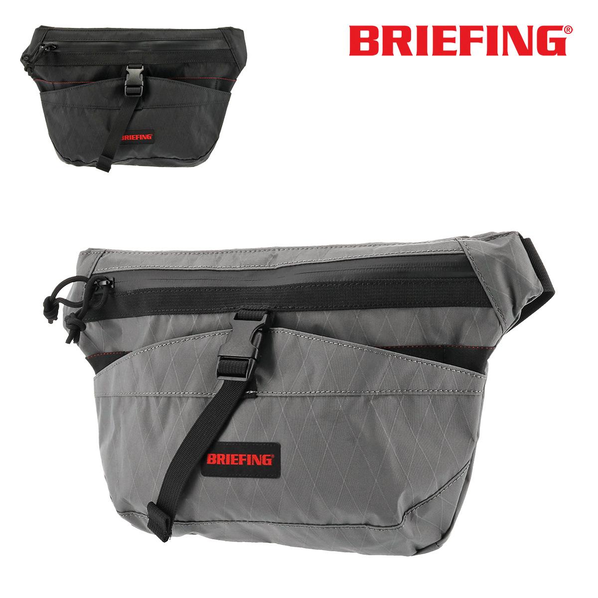 ブリーフィング ショルダーバッグ メンズ トランジションスクウェア XP BRM183211 BRIEFING 軽量 防水 コンパクト ナイロン[即日発送]