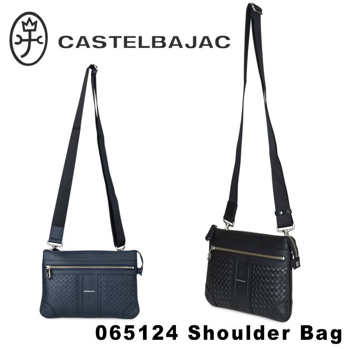カステルバジャック CASTELBAJAC ショルダーバッグ 65124 エポス 【 クラッチバッグ セカンドバッグ メンズ 2way 】【PO10】【bef】