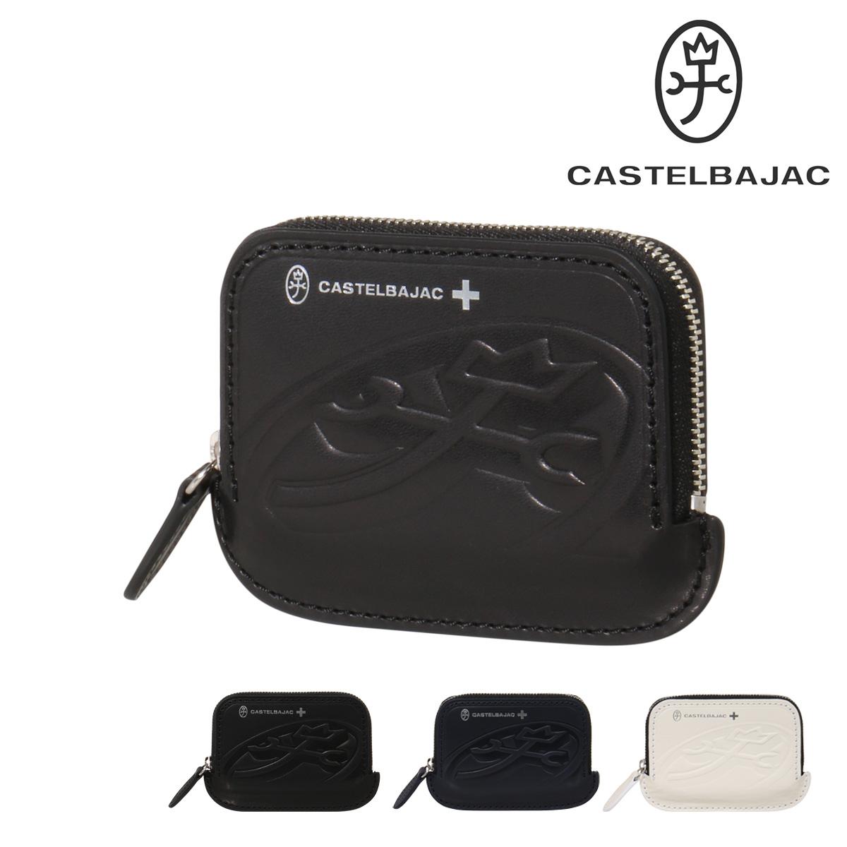 カステルバジャック カードケース ブレス メンズ 32601 CASTELBAJAC | ラウンドファスナー 牛革 本革 レザー ブランド専用BOX付き[PO10][bef]