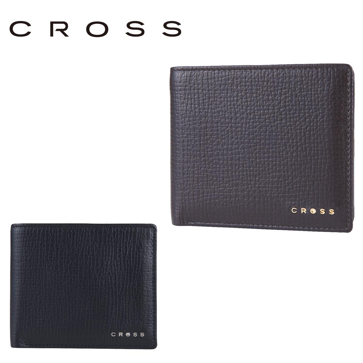 クロス 二つ折り AC238371 (0162) RTC CROSS 札入れ カードケース 小銭入れ メンズ レザー [PO5][bef]