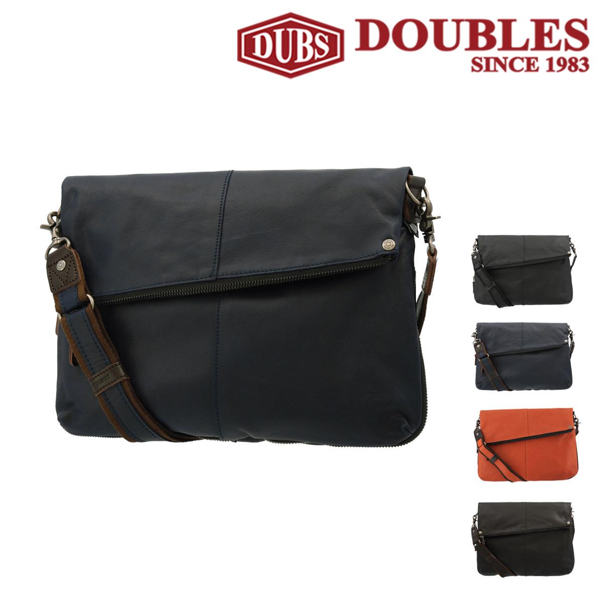 ダブルス ショルダーバッグ メンズ 1656 DOUBLES | 牛革 本革 レザー [PO10][bef][即日発送]
