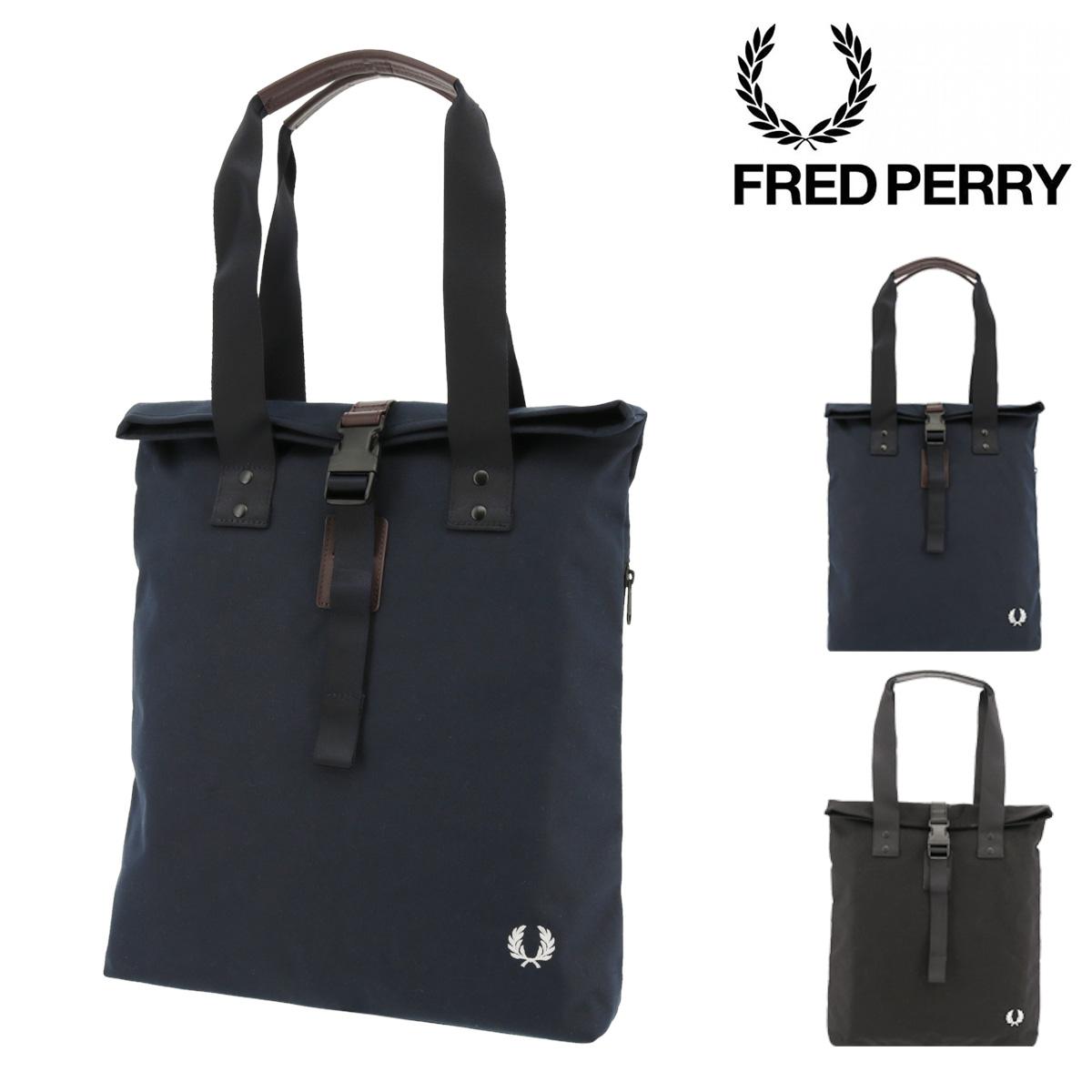フレッドペリー トートバッグ A4 キャンバストートバッグ メンズ レディース F9586 FRED PERRY | 軽量 撥水[PO10][即日発送]