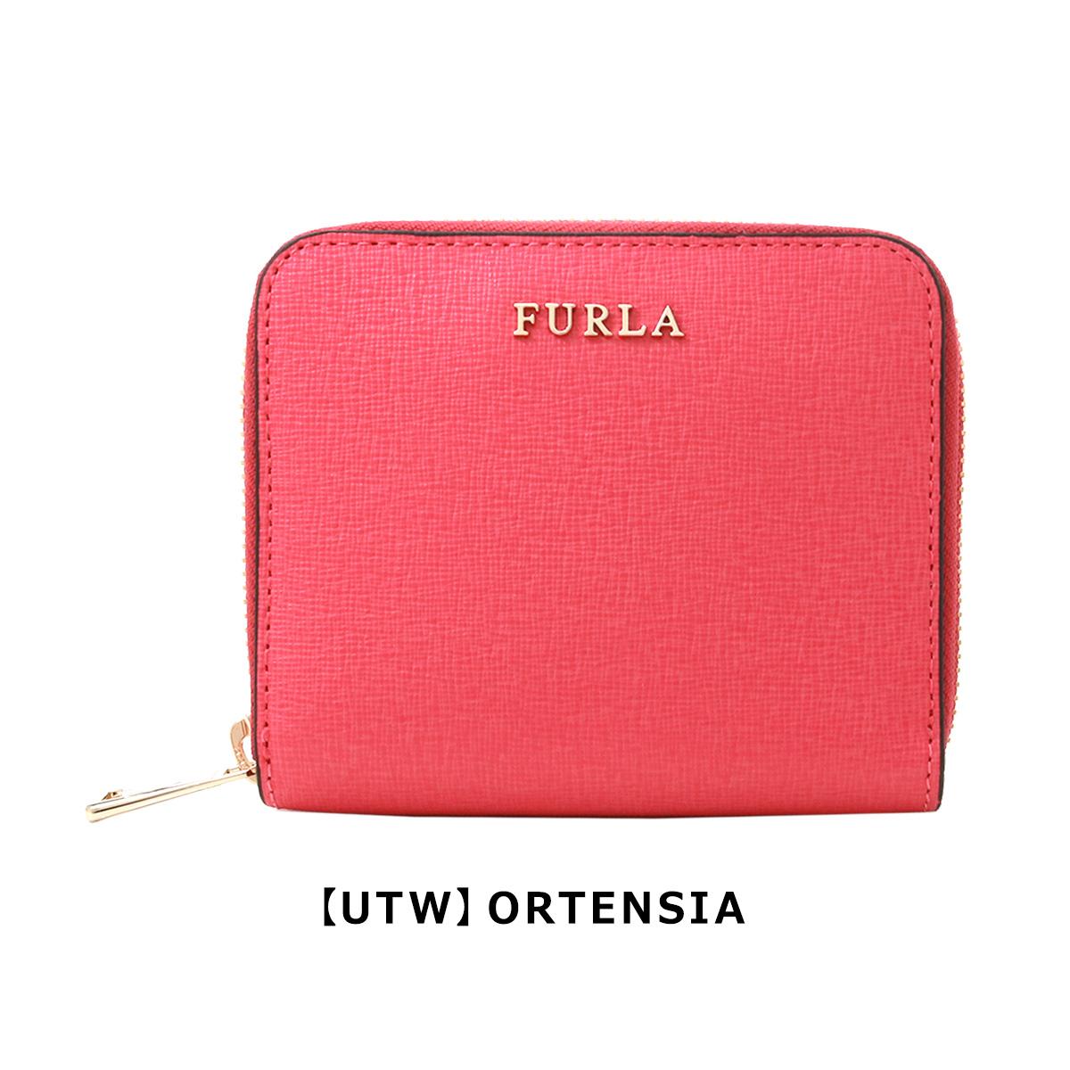 3840b9596093 FURLAのラウンドファスナー財布をご紹介。上質なカーフレザーは美しく艶のある色合いと、キズや汚れに強い型押しが施されたハリのある質感が魅力。 ゴールドファスナー ...