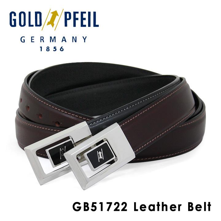 ゴールドファイル GOLDPFEIL ベルト GB51722 レザー メンズ [PO10][bef]