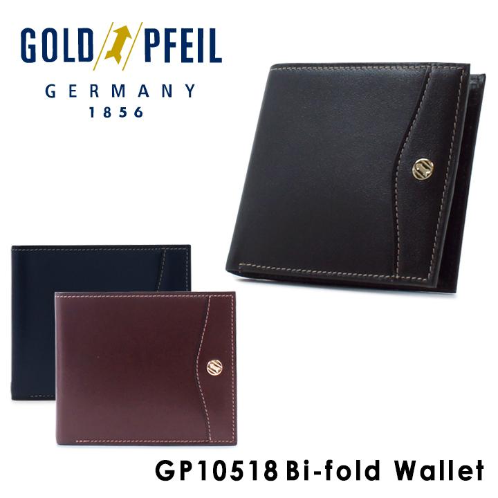 ゴールドファイル GOLDPFEIL 二つ折り財布 GP10518 OXFORD 札入れ メンズ レザー [PO10][bef]