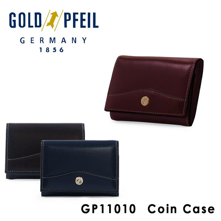 ゴールドファイル GOLDPFEIL コインケース GP11010 OXFORD 小銭入れ BOX式 メンズ レザー [PO10][bef]