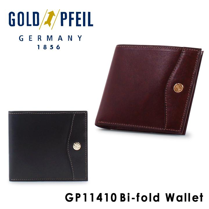 ゴールドファイル GOLDPFEIL 二つ折り財布 GP11410 OXFORD 札入れ メンズ レザー [PO10][bef]