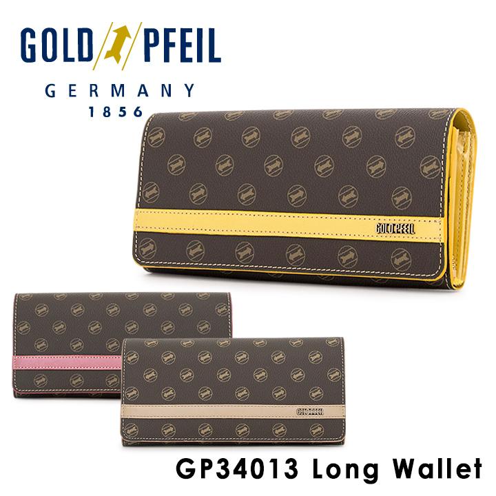ゴールドファイル GOLDPFEIL 長財布 GP34013 【 Signature 】【 レディース 財布 】[PO10][bef]