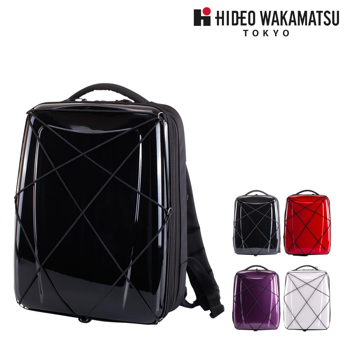 ヒデオワカマツ リュック 15L ハイブリッドギアバックパック メンズ 85-57120 HIDEO WAKAMATSU | リュックサック ビジネスバッグ防水 防汚[bef]