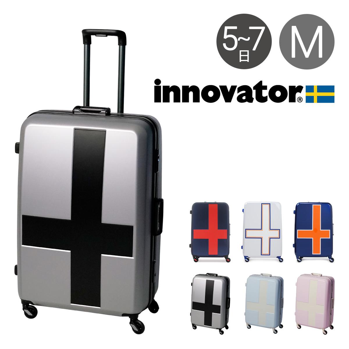 イノベーター スーツケース|90L 68cm 4.8kg INV68T|2年保証 ハード フレーム TSAロック搭載 HINOMOTO 消音 キャリーケース [PO10][bef]