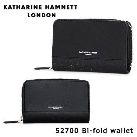 キャサリンハムネット KATHARINE HAMNETT 二つ折り財布 490-52700 Magic レザー ミドル ラウンドファスナー 小銭入れ 財布 [PO10][bef][母の日]