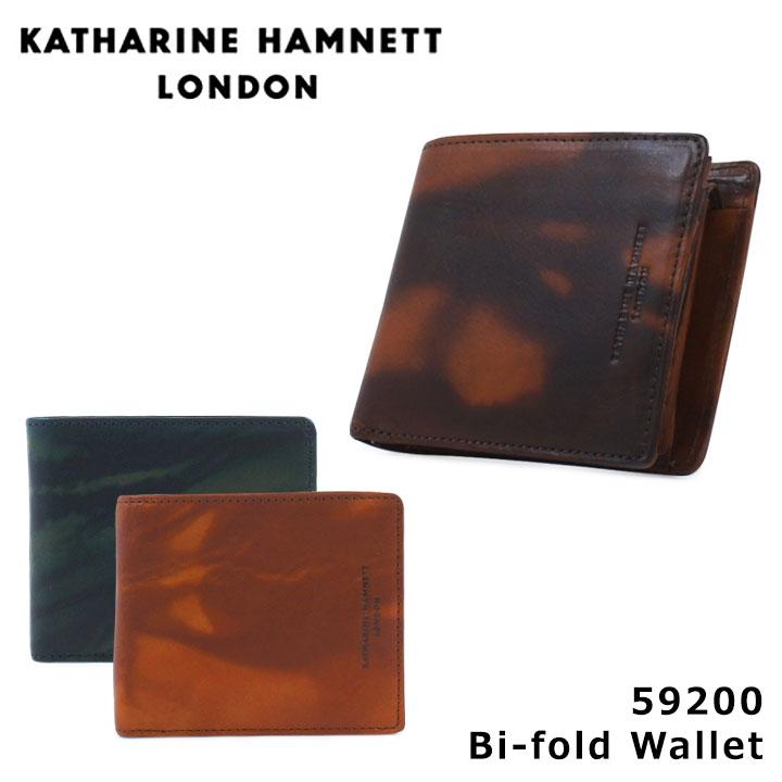 キャサリンハムネット KATHARINE HAMNETT 二つ折り財布 490-59200 FLUID 【 財布 革 レザー メンズ 】[PO10][bef]