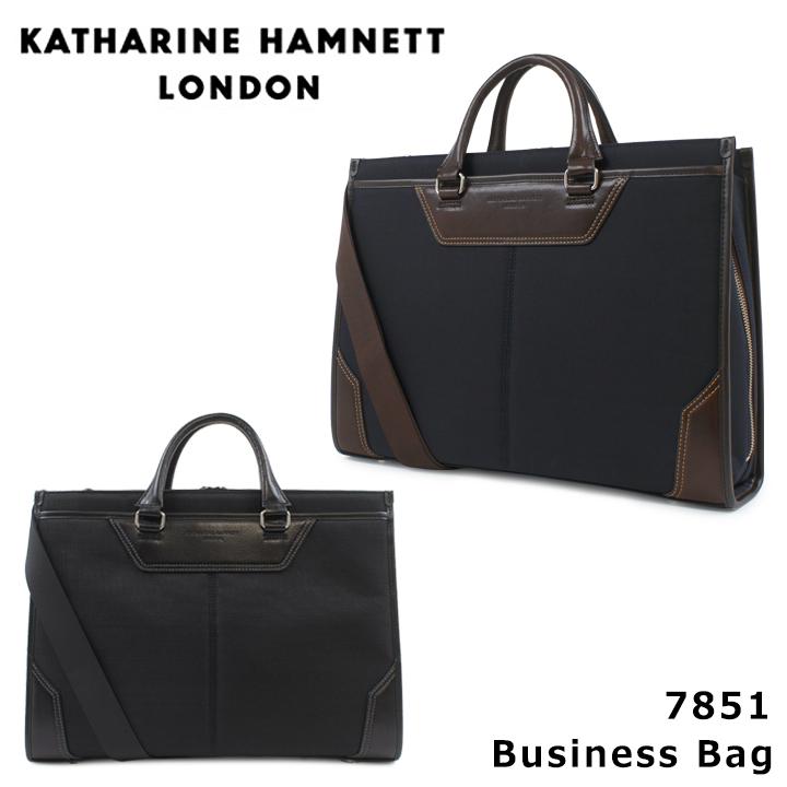 キャサリンハムネット KATHARINE HAMNETT ブリーフケース 490-7851 tough ビジネスバッグ ショルダーバッグ 2WAY メンズ [PO10][bef]