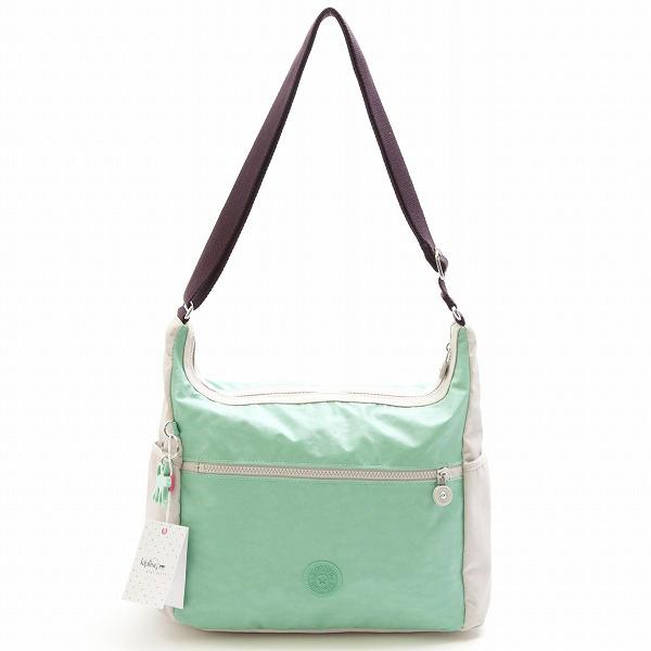 Kipling Kipling shoulder bag K12397-98Z ALENYA BP Lacq Mint Aub