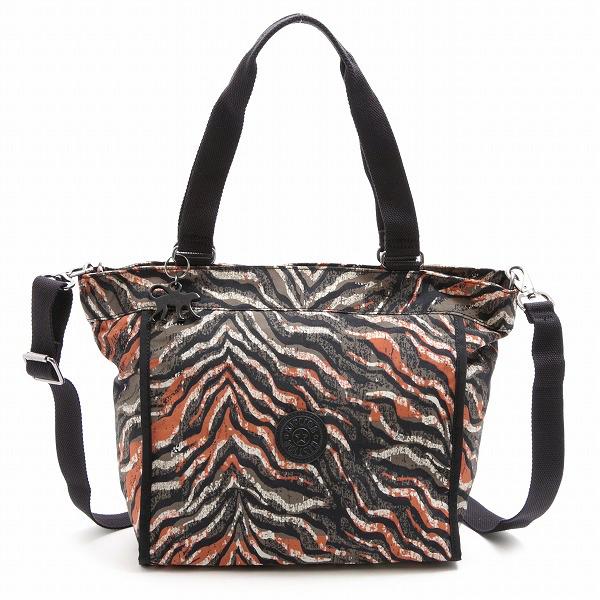 af7de714fd968 キプリング Kipling tote bag K16640-H74 NEW SHOPPER S Pink Animal Pr shoulder bag  ...
