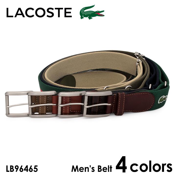 ラコステ LACOSTE ベルト LB96465 メンズ レザー [PO5][bef][即日発送]