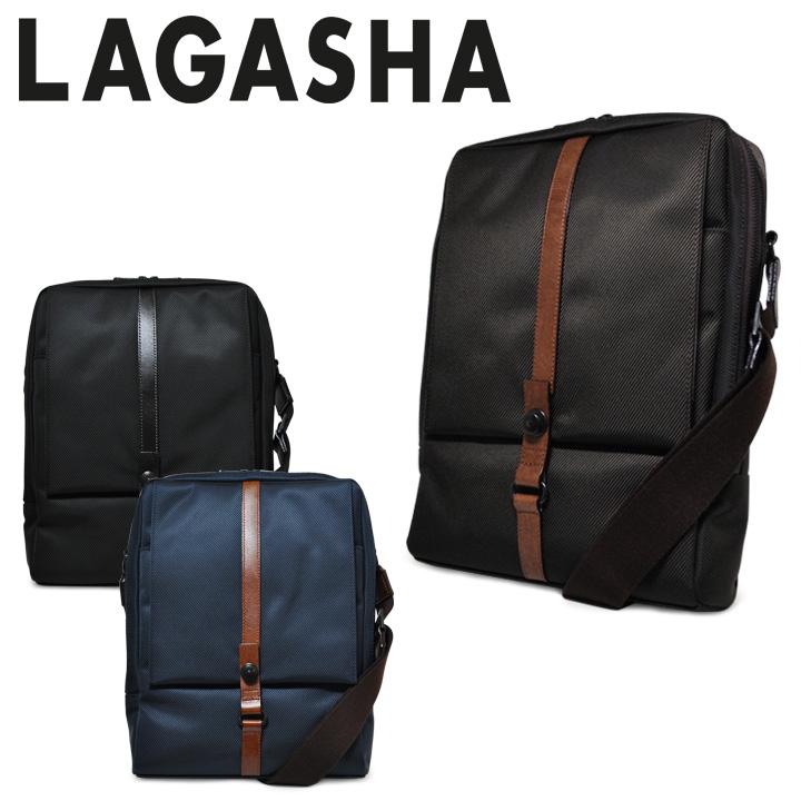 ラガシャ ショルダーバッグ メンズ 日本製 タテ型 縦型 ビジネスショルダー ビジネスバッグ 軽量 高耐久性 A4 2way MOVE ムーヴ OFFICE 7139 LAGASHA [PO10][bef]
