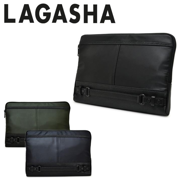 ラガシャ セカンドバッグ メンズ クラッチバッグ ビジネスバッグ ハンドル付 日本製 B5 軽量 撥水 OFFICE 7225 Uplight アップライト LAGASHA[PO10][bef][即日発送]