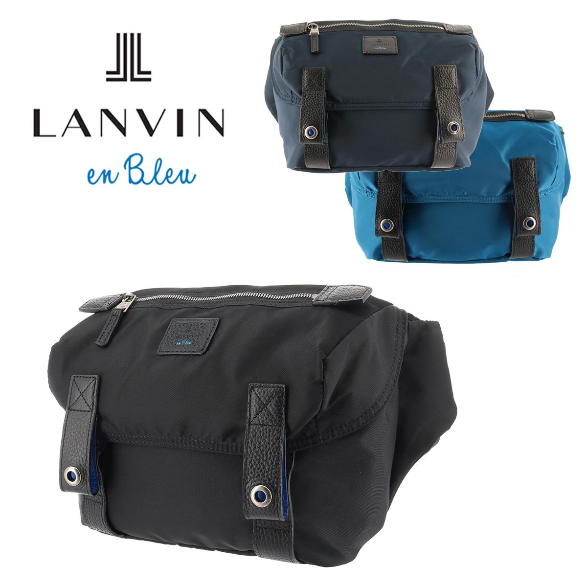 ランバンオンブルー LANVIN en Bleu ボディバッグ 555901 【 ワンショルダー メンズ 】[bef]