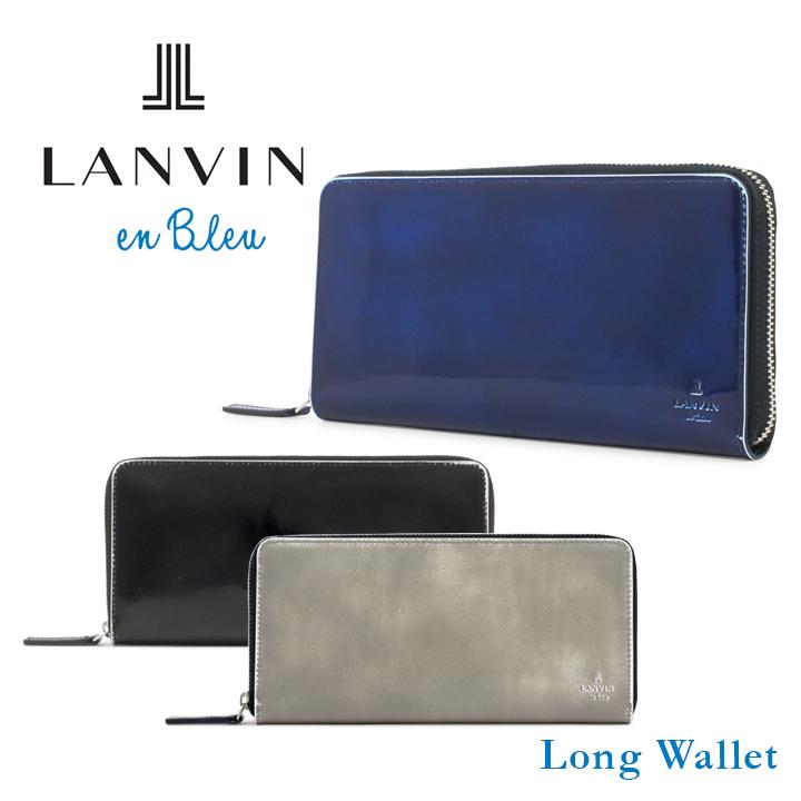 ランバンオンブルー LANVIN en Bleu 長財布 570606 サムディ ランバンオンブルー ラウンドファスナー メンズ [bef][PO10][即日発送]