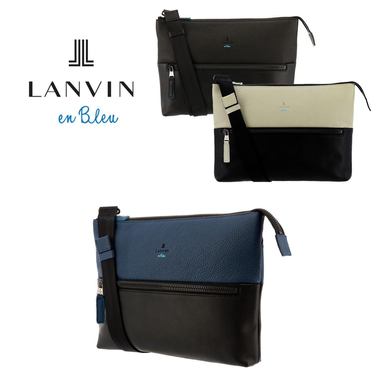 ランバンオンブルー LANVIN en Bleu ショルダーバッグ 574102 フェリチタ 【 クラッチ メンズ 2way 】[bef]