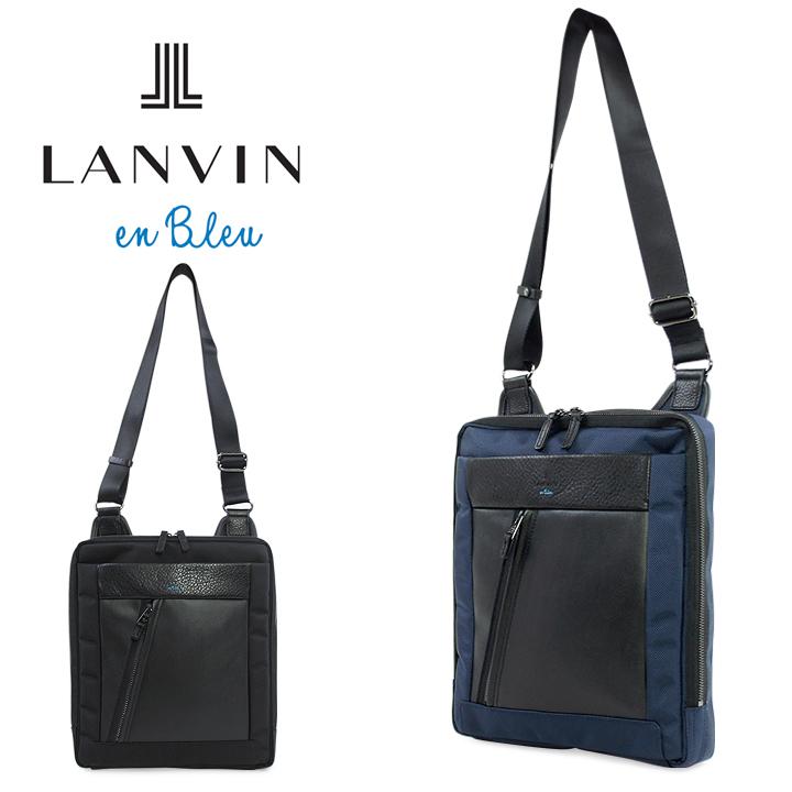 ランバンオンブルー バッグ LANVIN en Bleu ショルダーバッグ 588102 モンペリエ メンズ A4サイズ カジュアルバッグ ビジネスバッグ[bef][即日発送][PO10]