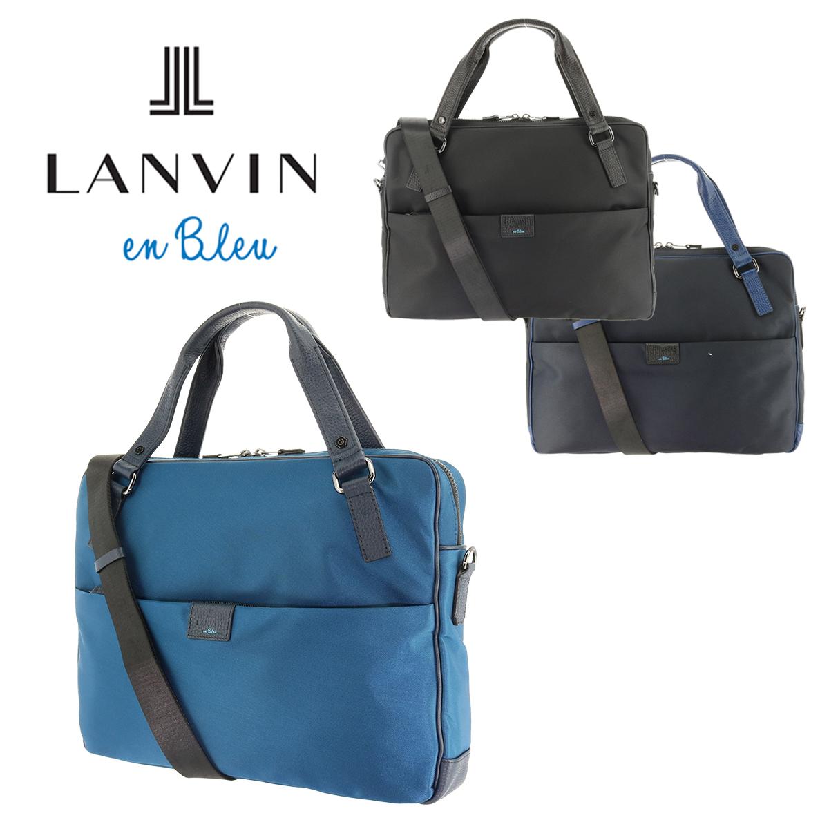 ランバンオンブルー LANVIN en Bleu ブリーフケース 589501 【 2WAY ショルダーバッグ ビジネスバッグ メンズ 】【bef】