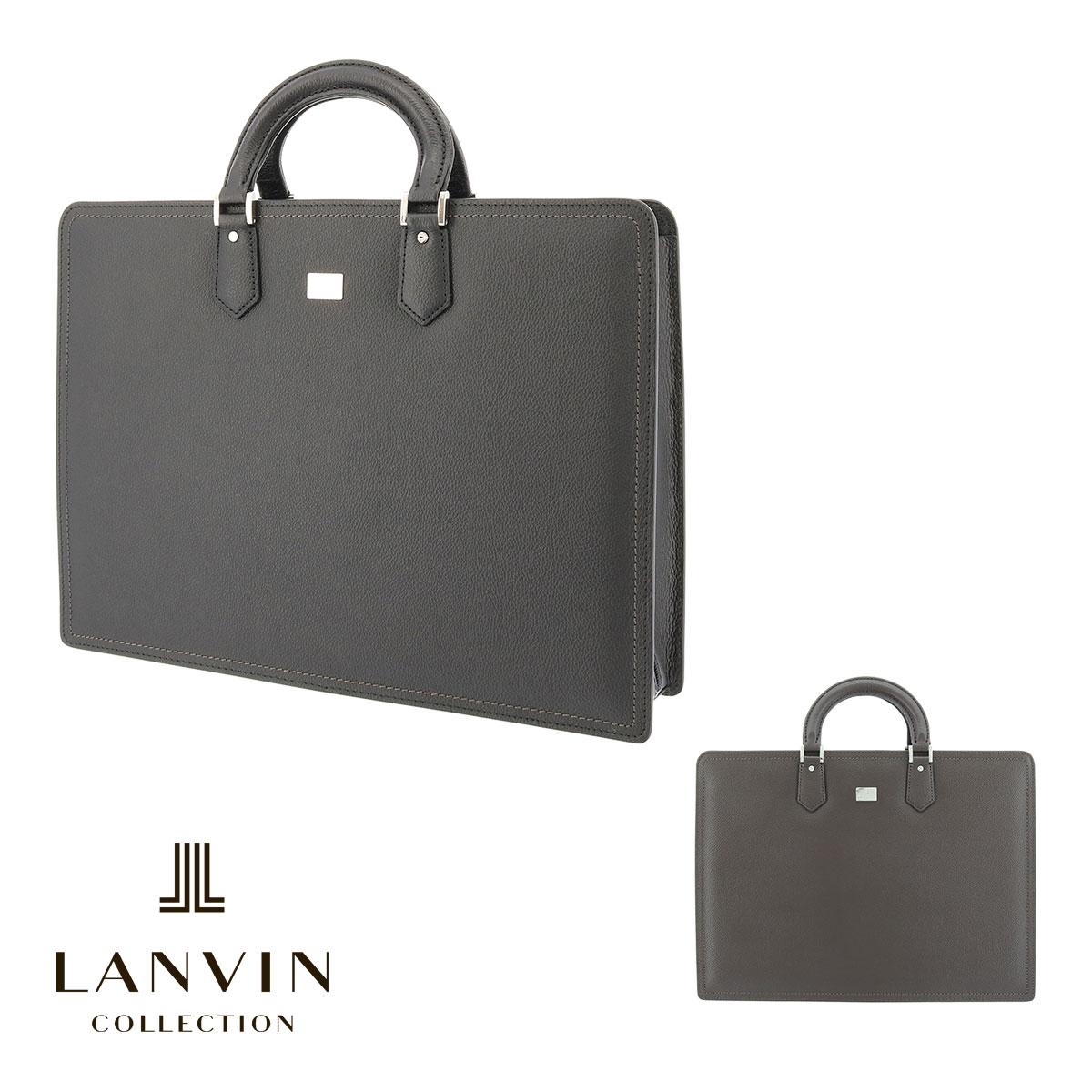 ランバンコレクション ブリーフケース A4 メンズ 日本製 マクシム 280521 LANVIN COLLECTION ビジネスバッグ 出張 牛革 本革 レザー